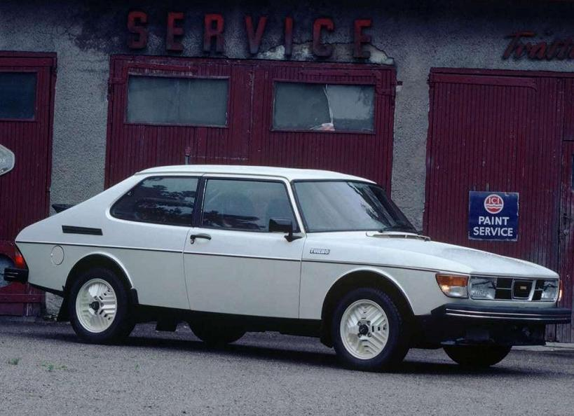 SAAB 99 Turbo Combi Coupe - 1978