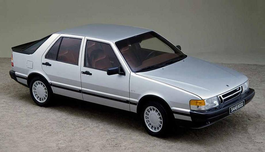 SAAB 9000 Turbo Liftback - 1985