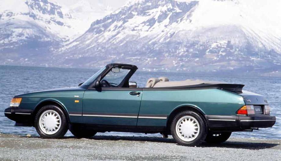 SAAB 900 Cabriolet - 1987