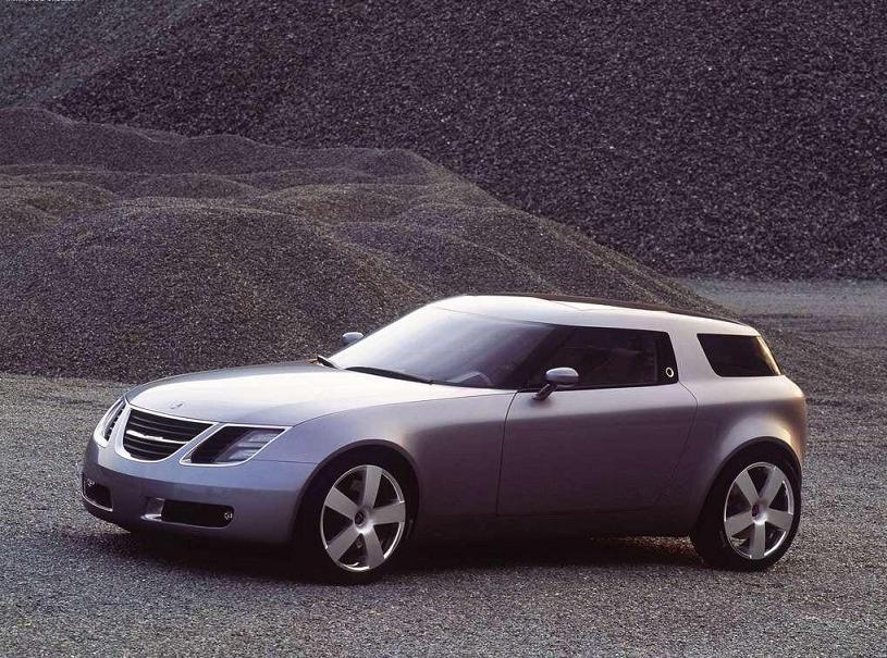 SAAB 9X Concept Car - 2001