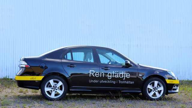 SAAB 9-3 Electric - 2014