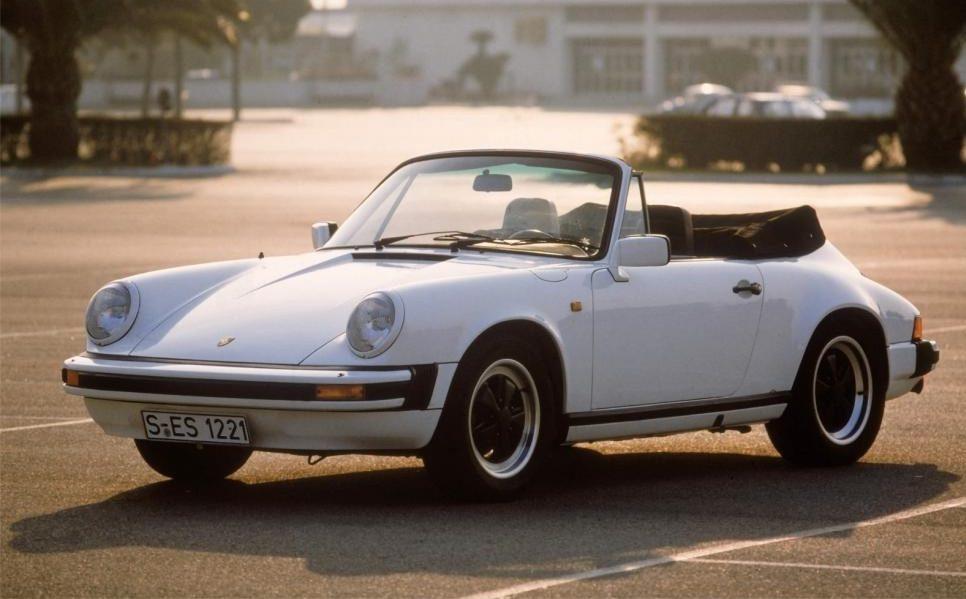 Porsche 911 SC Cabrio 1982