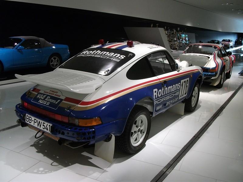 Porsche 911 Carrera 4x4 Paris Dakar 1984