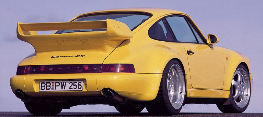 Porsche 911 Carrera RS 3.8 1992