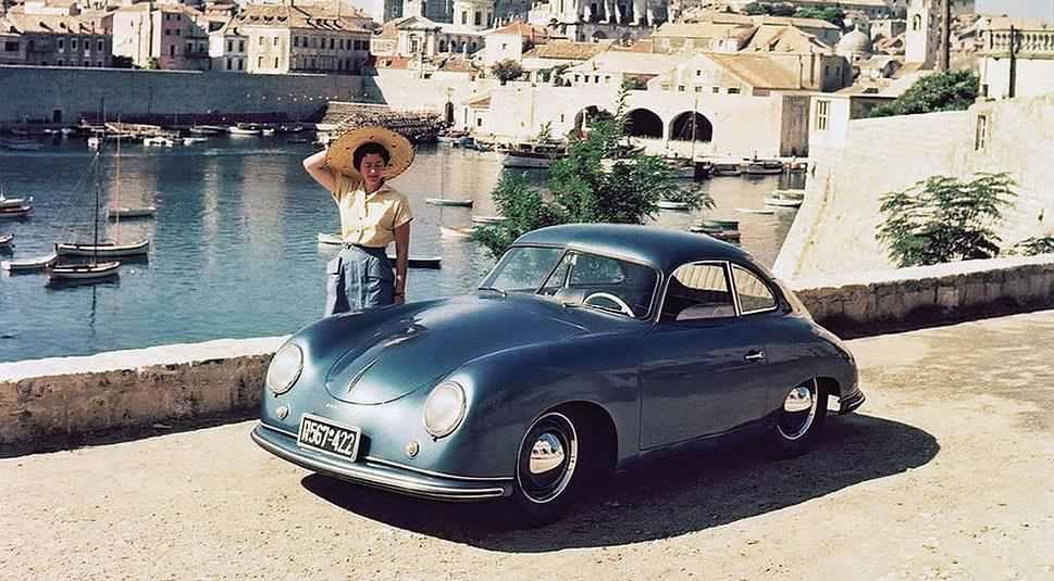 Porsche 356 Coupe Pre-A din 1950