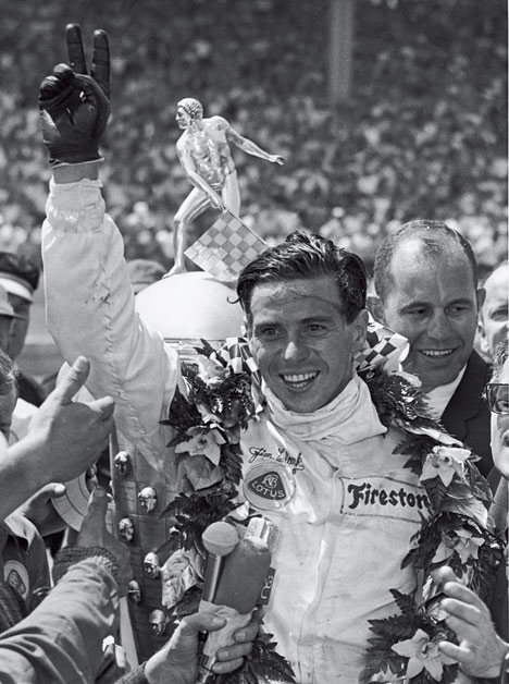 Jim Clark campion mondial in 1965