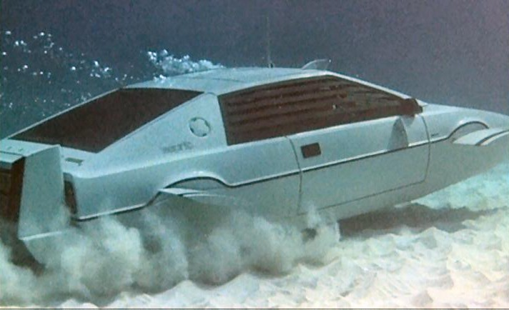 Lotus Esprit Film spionul care ma iubea