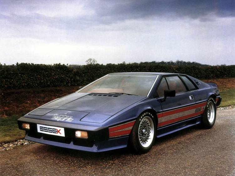 Lotus Esprit Turbo in editie limitata Essex