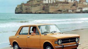 FIAT 128 PRIMUL MODEL FIAT CU TRACTIUNE FATA A SERBAT 50 DE ANI