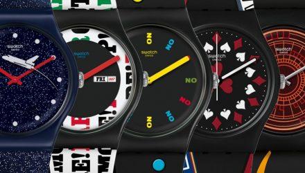 Swatch a lansat sase modele speciale clasice X007