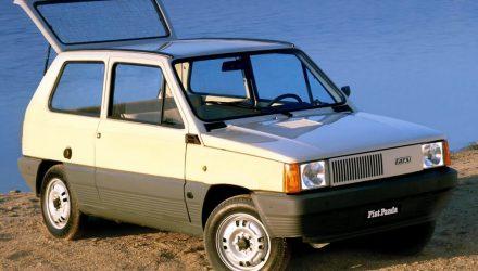 Longevivul model Panda de la Fiat a celebrat 40 de ani