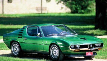 Alfa Romeo a serbat jumatate de secol cu modelul Montreal
