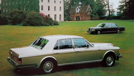 Rolls Royce Silver Spirit - Silver Spur celebreaza 40 de ani de la debut